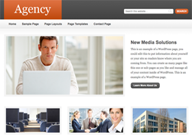 Agency WordPress design