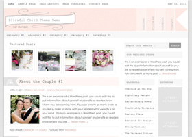Blissful WordPress design