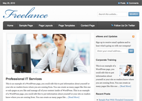 Freelance WordPress design