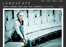 Landscape WordPress design