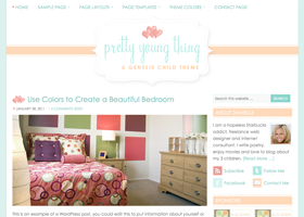 Pretty WordPress design